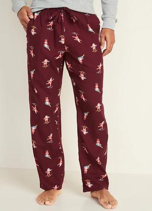 Домашние мужские фланелевые штаны old navy