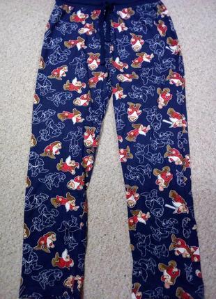 Домашние, пижамные брюки дисней