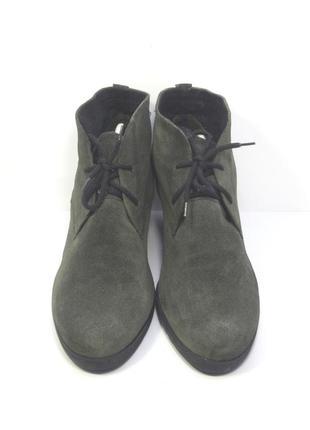 Женские замшевые ботинки gabor р. 43