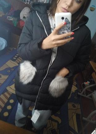 Пуховик куртка1