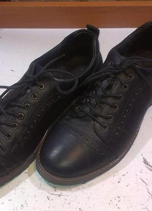 Туфли кожаные мужские mida