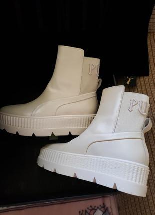Оригинал puma fenty x rihanna chelsea womens new женские ботинки челси