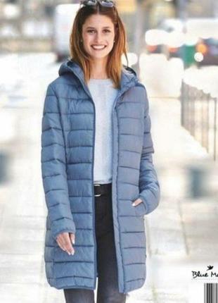 Стеганное пальто blue motion германия.