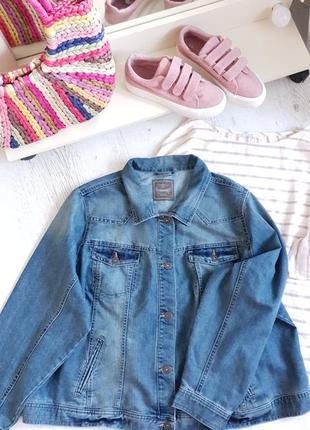 Джинсовый пиджак new look