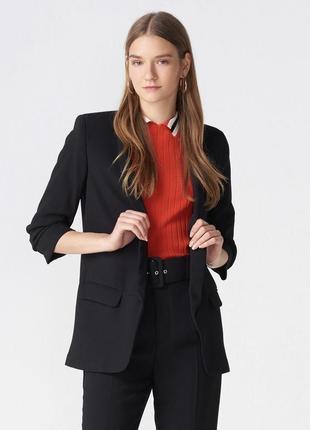 Чёрный пиджак dilvin