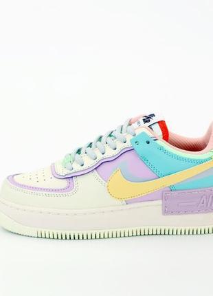 Nike air force стильные женские кроссовки найк в белом цвете (весна-лето-осень)😍