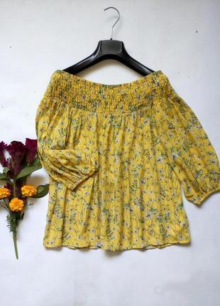 Блуза с открытым плечами 12(m-l)