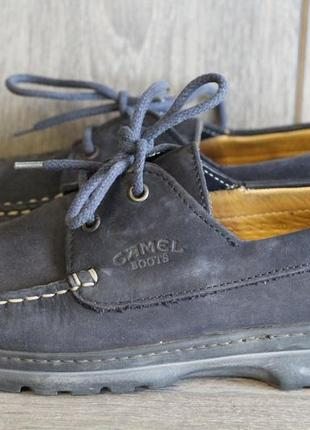 Кожаные мокасины, туфли,  топсайдеры camel boots 41-42