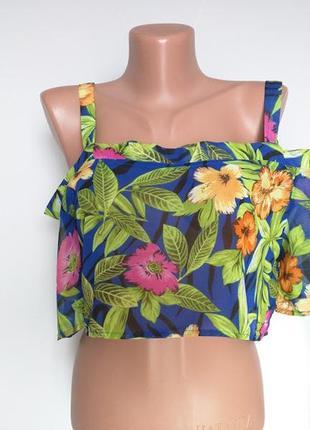 Топ-блуза шифоновая  на бретелях boohoo 12(40) будет и на м