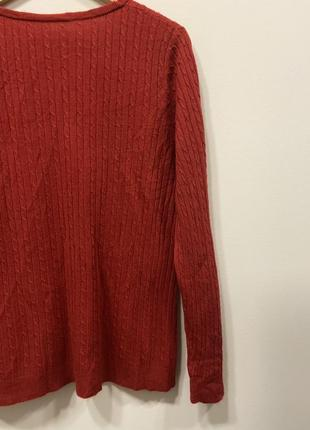 Свитер красный р.16 #569. sale!!!🎉🎉🎉3 фото