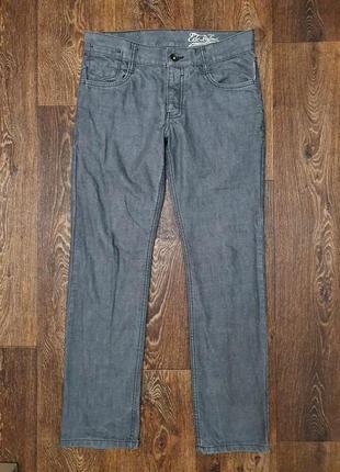 Стильные мужские джинсы 100%  коттон edc brand