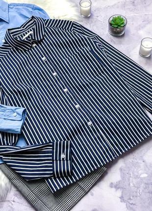 Стильная рубашка в полоску cos