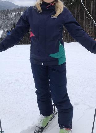 Крутой лыжный костюм/ лижний костюм