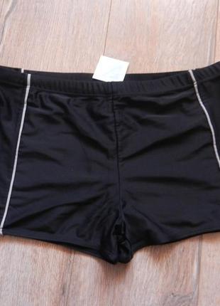 48-50/l-xl easy,германия! стильные черные плавки шорты для моря,новые