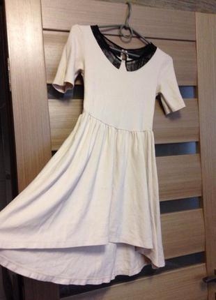 Нежное платье zara