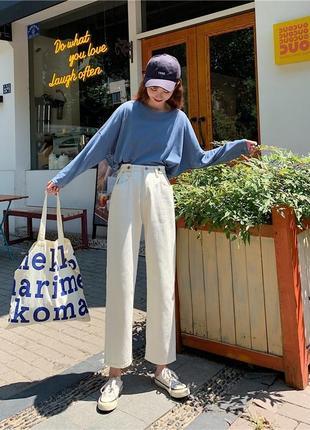 Белые джинсы мом/mom #розвантажуюсь2 фото