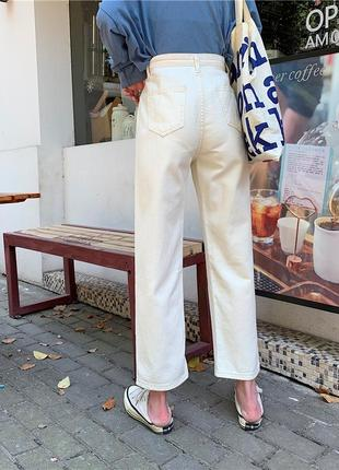 Белые джинсы мом/mom #розвантажуюсь3 фото