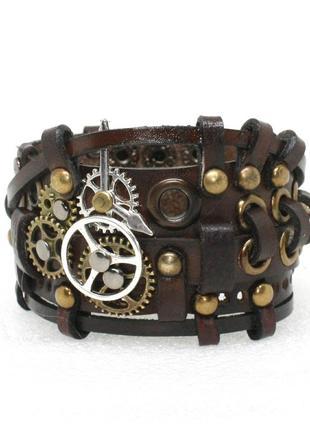 Кожаный браслет 28