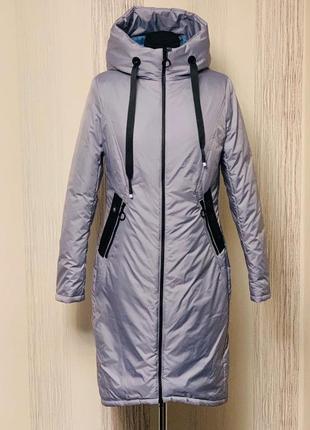 Шикарне демісезонне пальто