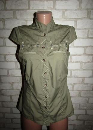 Натуральная рубашка р-р м-38 бренд mexx