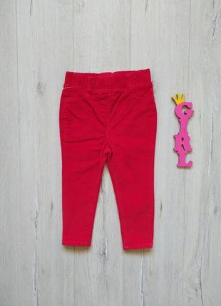 1,5-2 года, брюки микровельветовые m&co.