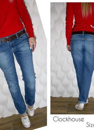 Красивые свободные джинсы clockhouse