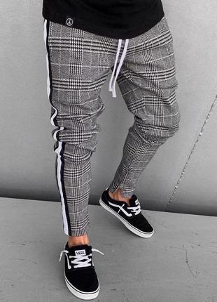 Штаны спортивные , брюки в клетку🔥 карго