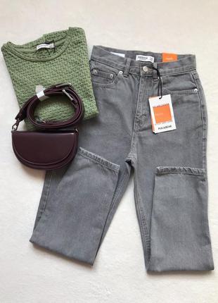 Джинси джинсы мом pull&bear