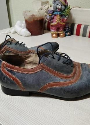 Стильные туфли, расцветка под джинс