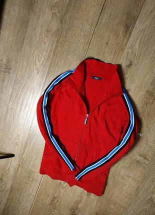 Шикарная олимпийка от marks spencer красная распродажа