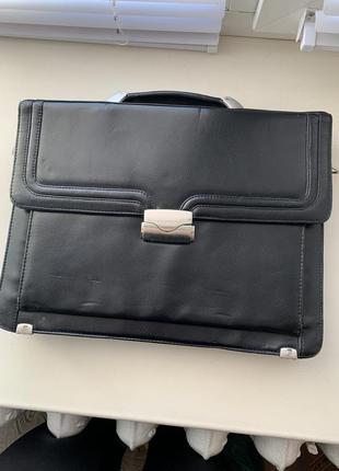 Мужская сумка с калькулятором