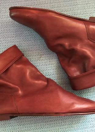 Ботинки от известного и дорогого дизайнера robert zur