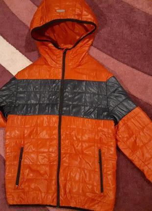 Куртка весенняя на мальчика zara(рост 152, 12 лет).
