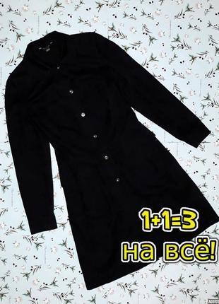 🌿1+1=3 шикарное дизайнерское длинное джинсовое пальто куртка marks&spencer, размер 44 - 46