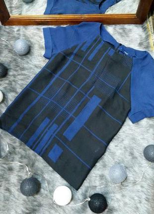 Блузка кофточка топ прямого кроя topshop