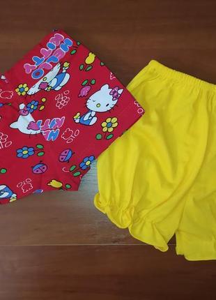 Комплект летних шортиков