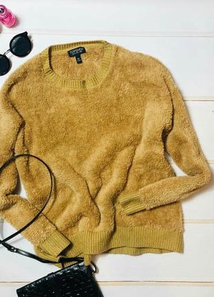 Классный плюшевый свитер topshop