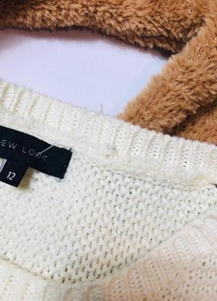 Стильный объемный свитер new look3 фото