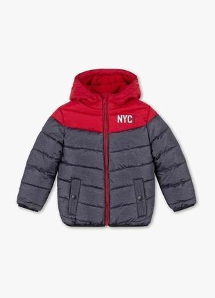 Теплая демисезонная куртка для мальчика palomino