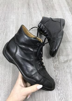 Кожаные итальянские ботиночки