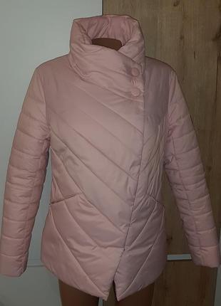 Шикарная теплая куртка, р.44-52