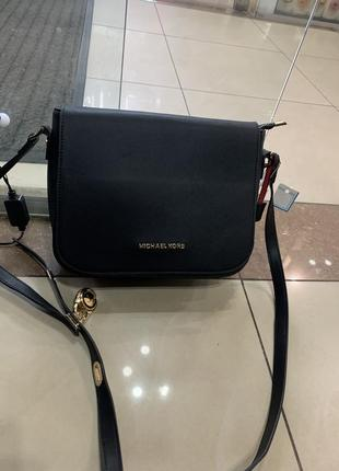 Кожаная сумка сумка кожаная через плечо кроссбоди michael kors