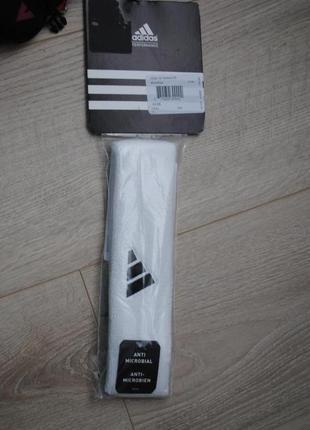 Adidas фирменный налобник резинка полоска