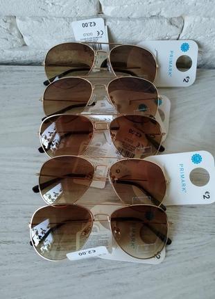 Primark испания детские очки авиаторы с защитным фильтром от ультрафиолета