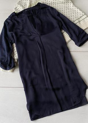 Шелкова сорочка ,рубашка marc o polo