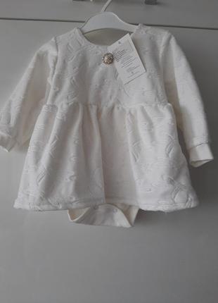 Детское платье-бодик