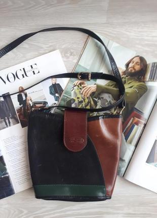 Кожаная сумка anemi