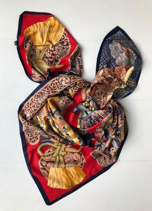 Шикарный шёлковый платок шарф