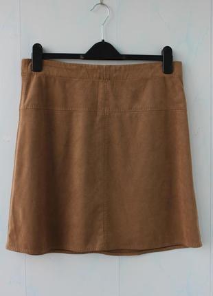 Брендовая юбка под замшу max studio