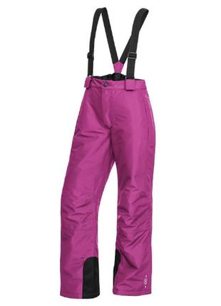 Лыжные термо штаны германия crivit с подтяжками